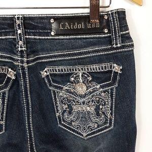 LA Idol Boot Cut Jeans